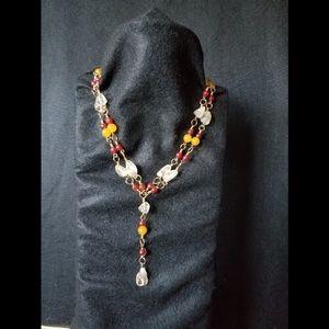 Jewelry - Brass Stone Necklace